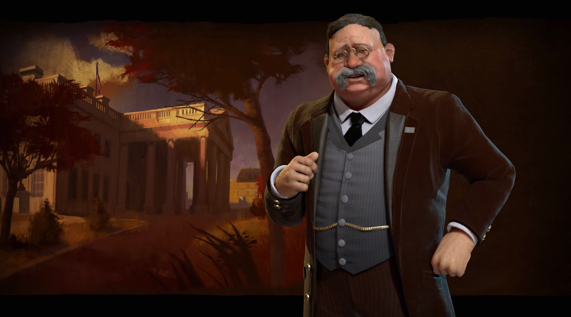 Civ 6 Leader Teddy Roosevelt Before Feedback