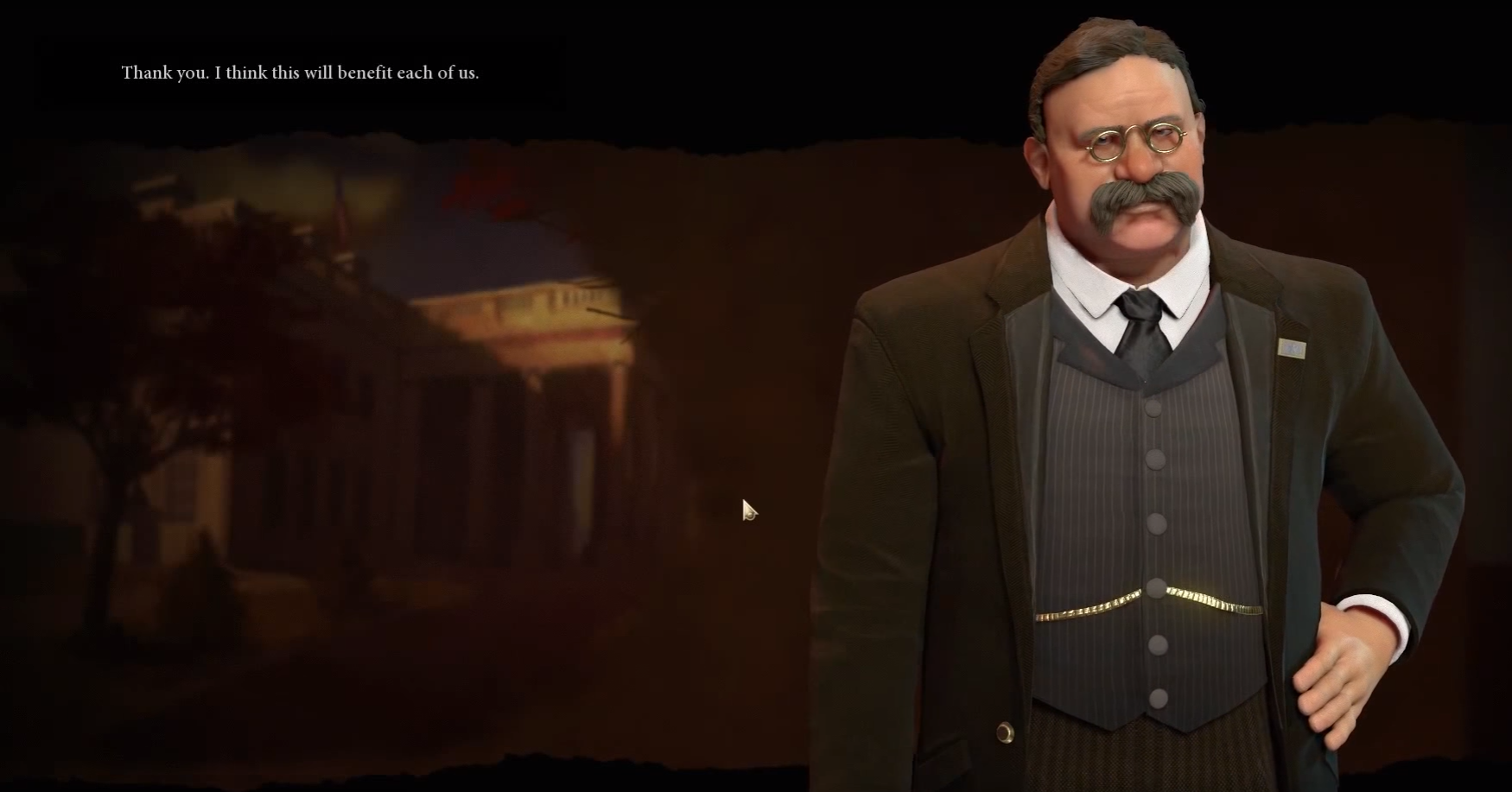 Teddy Roosevelt Civ 6 Leader After Feedback