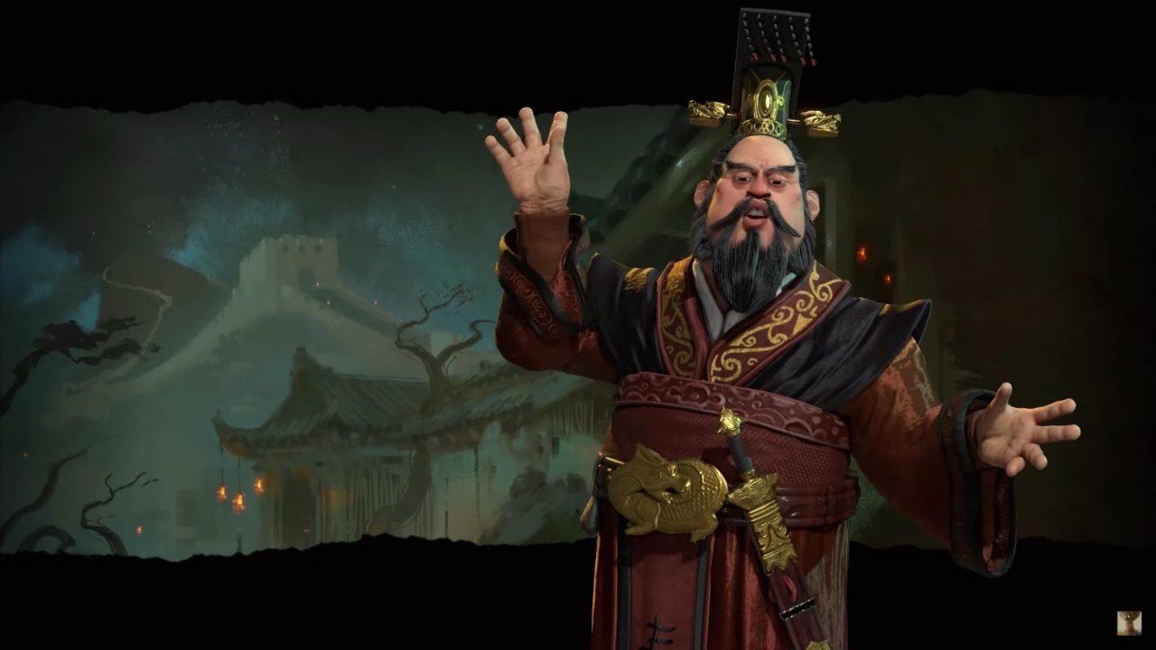 Qin Shi Huang in Civ 6