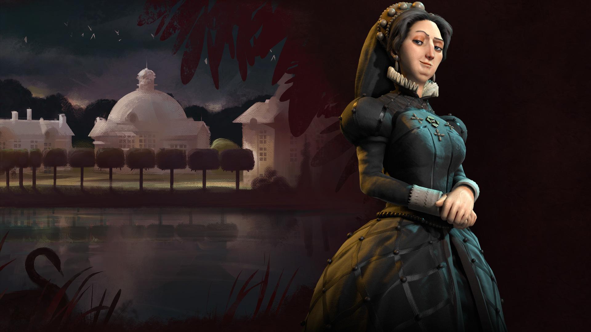 Catherine de Medici in Civ 6