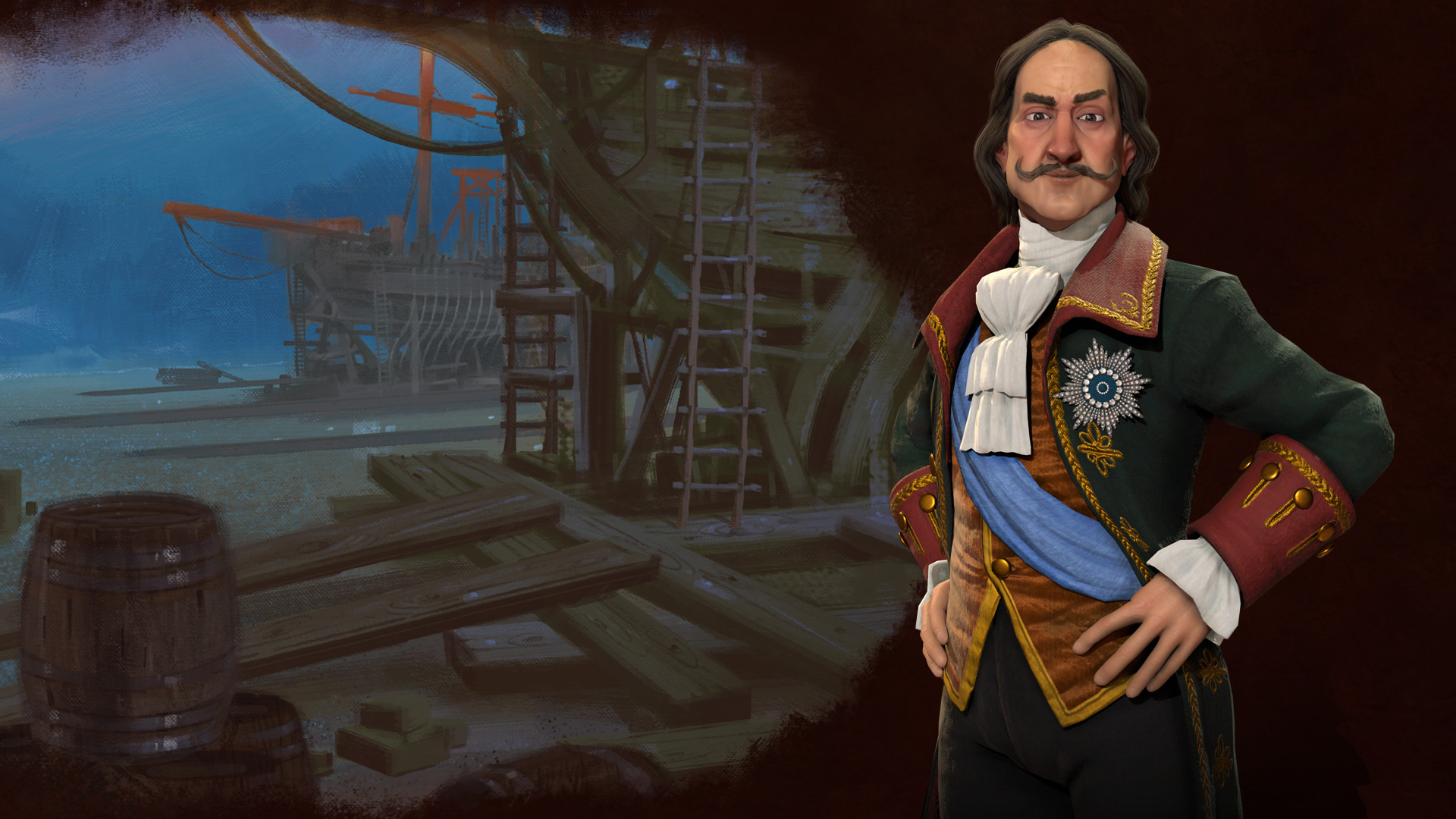 Peter the Great in Civ 6