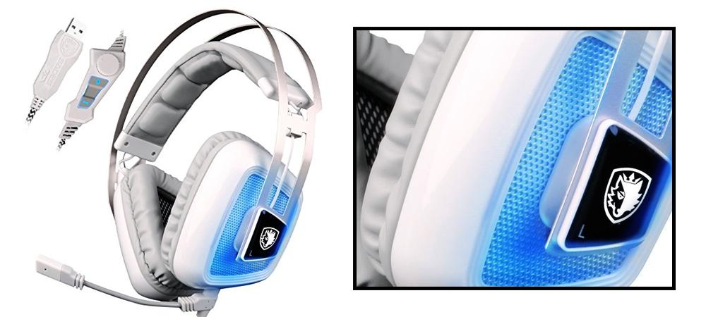 Sades A8 7.1 Gaming Headset