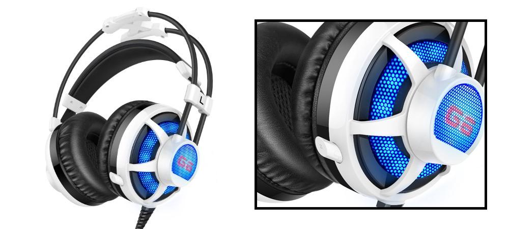 Honstek G6 Wired PC Gaming Headset