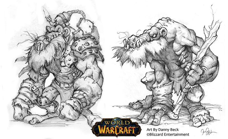 Kobold Mongrel Horde Concept in World of Warcraft