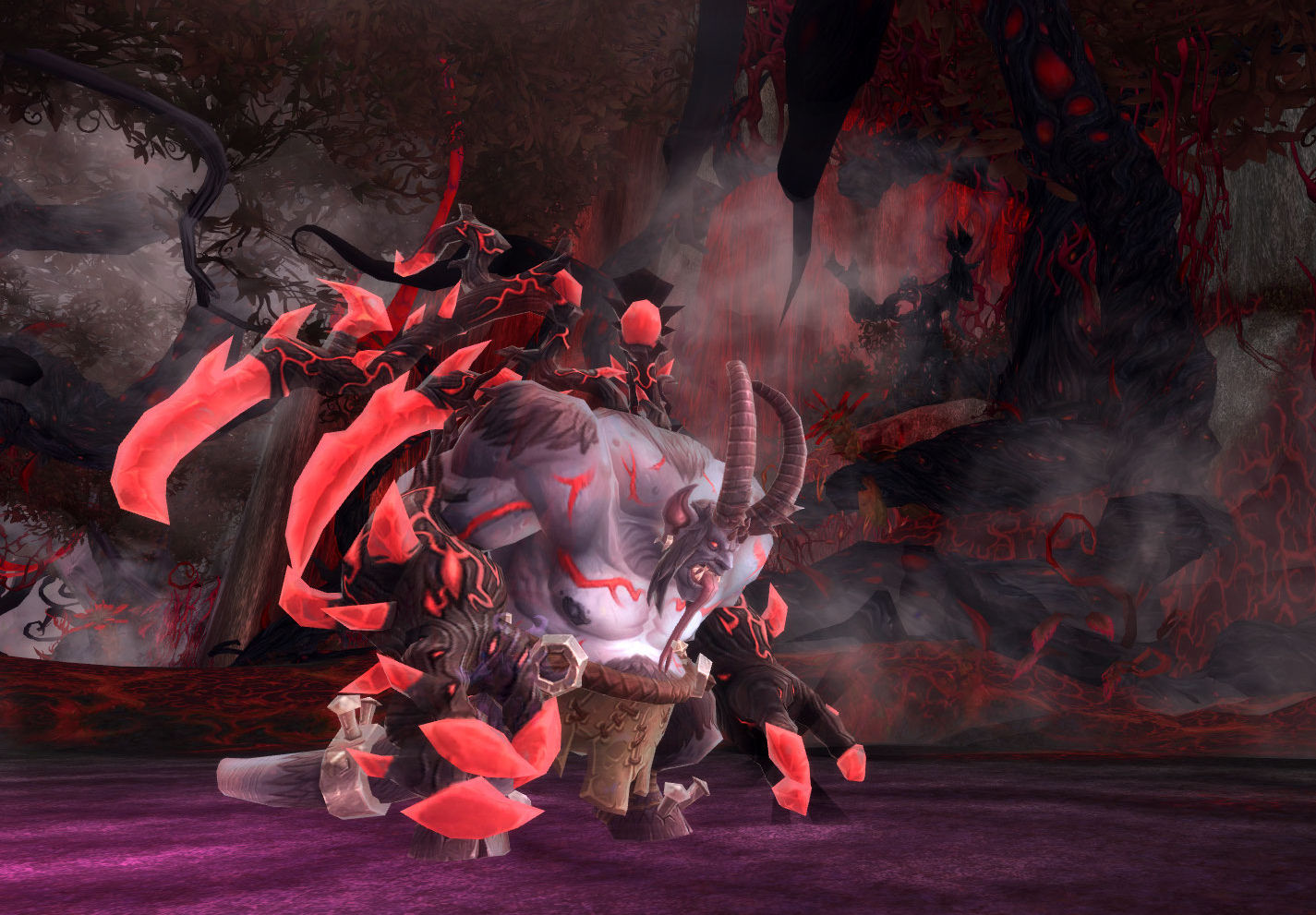 Xavius in the Emerald Nightmare in World of Warcraft Legion
