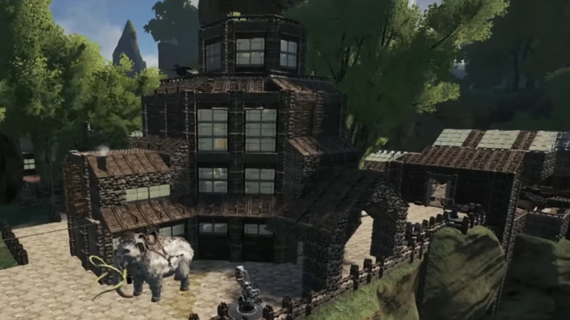 8 of ark survival evolveds coolest bases blogs gamepedia this one is truly something else its a practical location with everything a survivalist needs but this villa goes far beyond utility with its beautiful malvernweather Image collections
