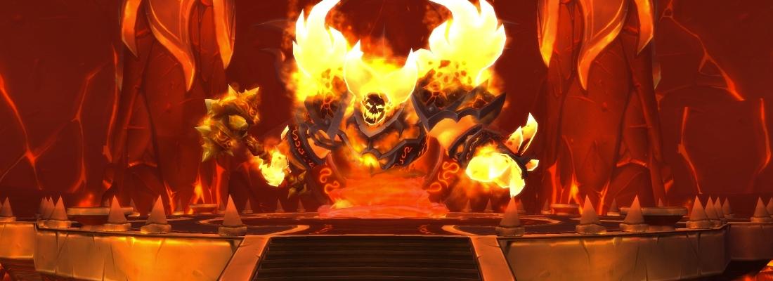 Ragnaros from World of Warcraft