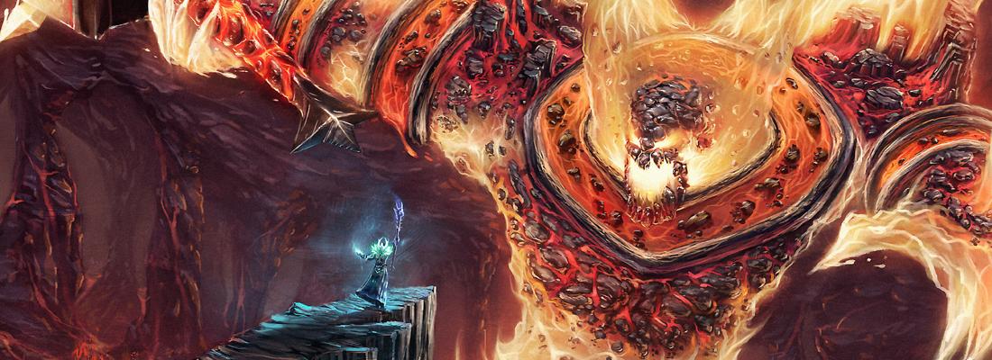 Ragnaros Art - World of Warcraft