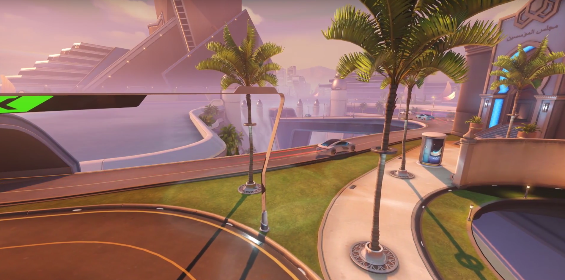Overwatch Oasis Map - City Center