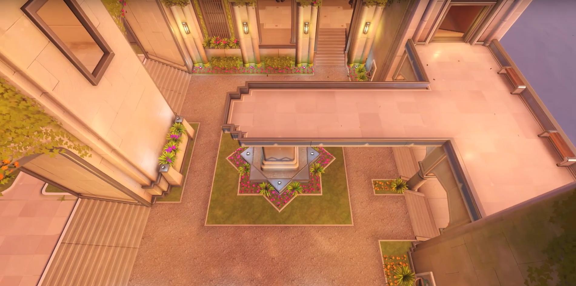 Overwatch Oasis Map - Gardens