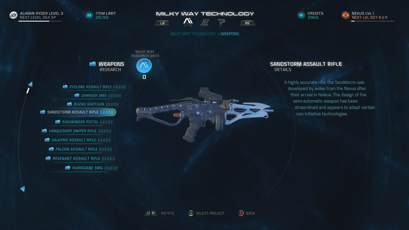 Mass Effect: Andromeda Crafting Guide - Research