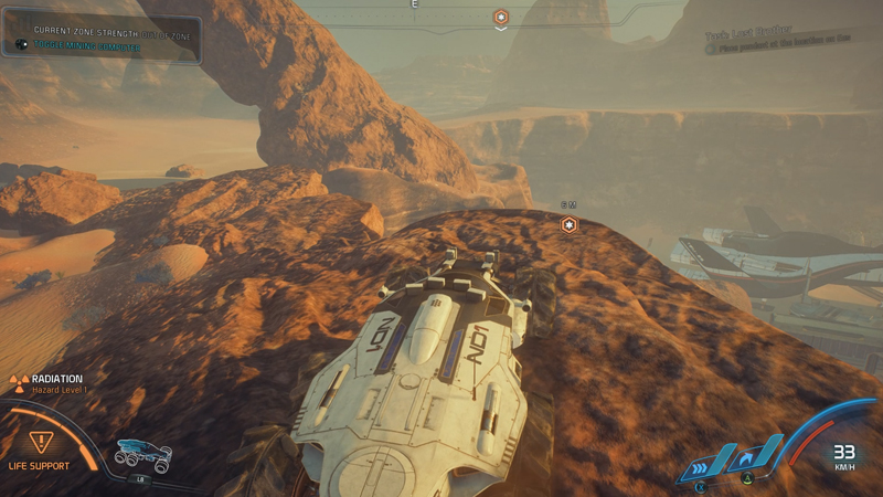 Mass Effect: Andromeda Nomad Guide - Climbing Terrain