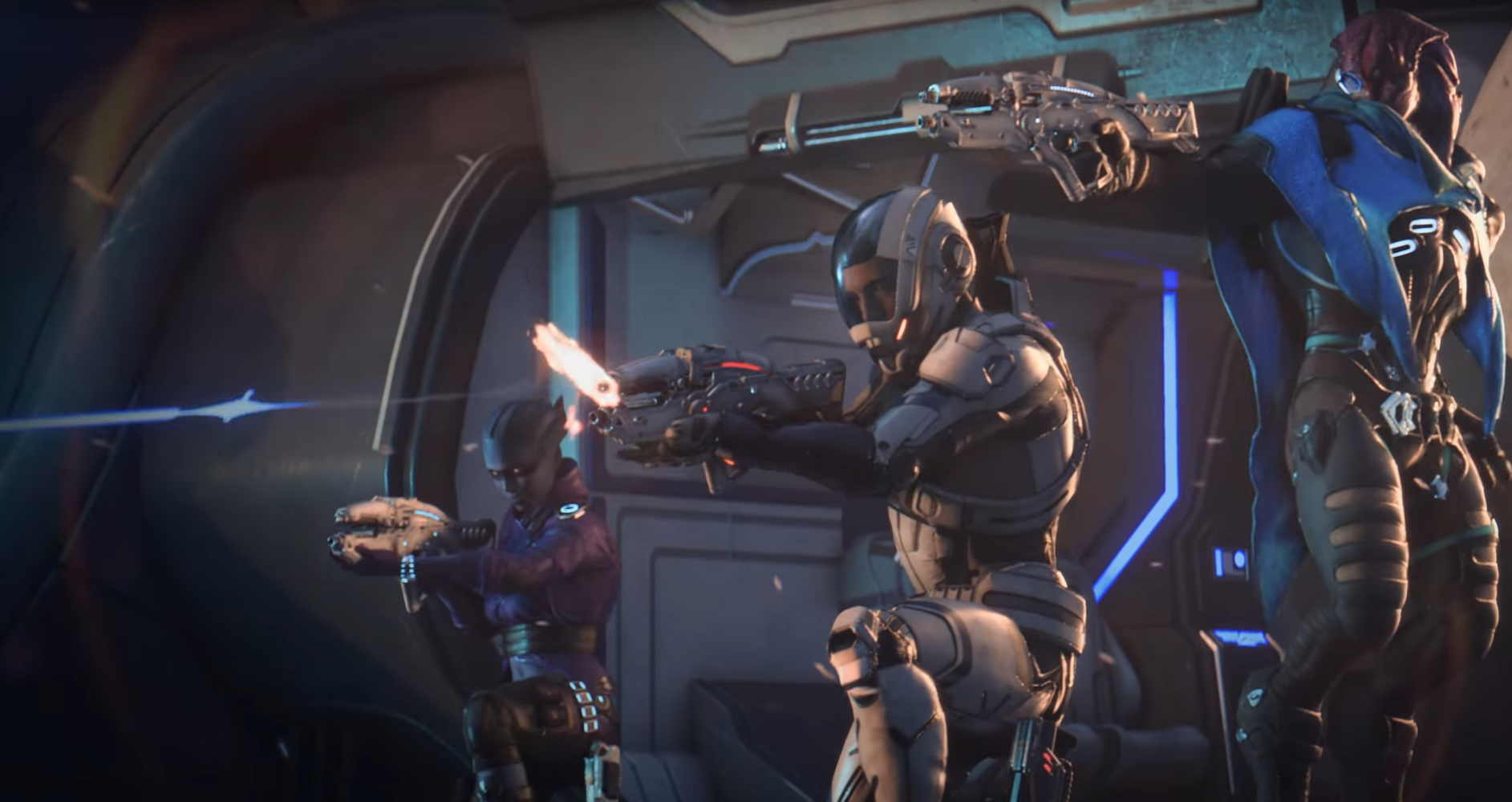 Image result for MASS EFFECT ANDROMEDA COMBAT