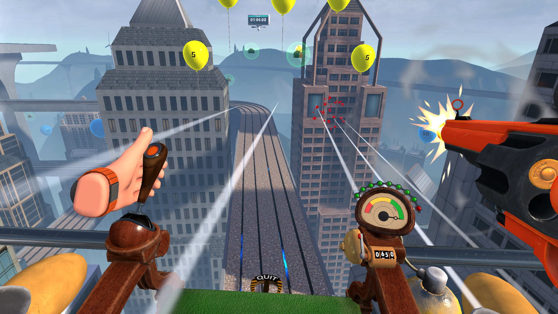 Balloon Chair Death Match screenshot