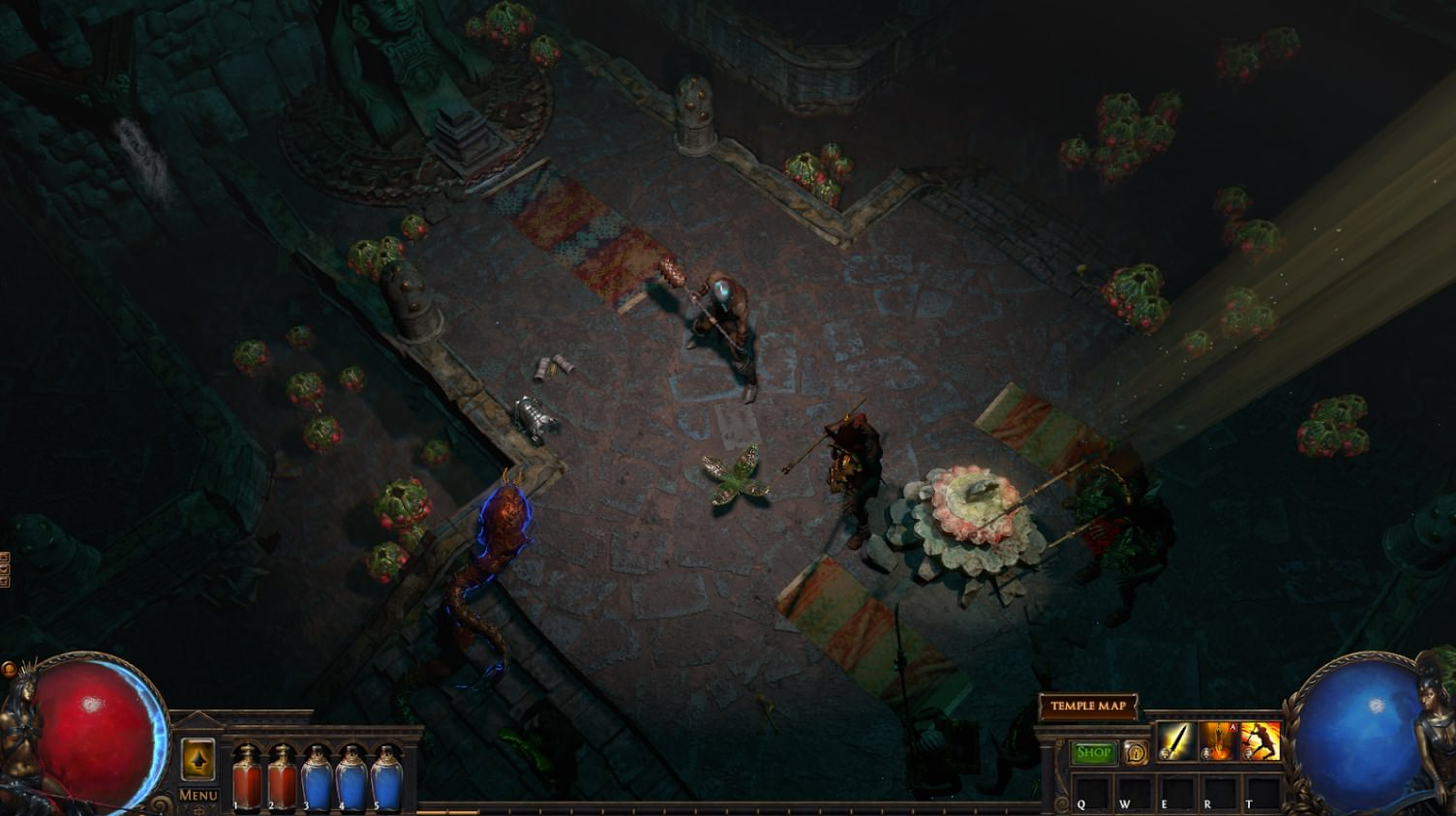 Path of Exile - Incursion, Poison Plants