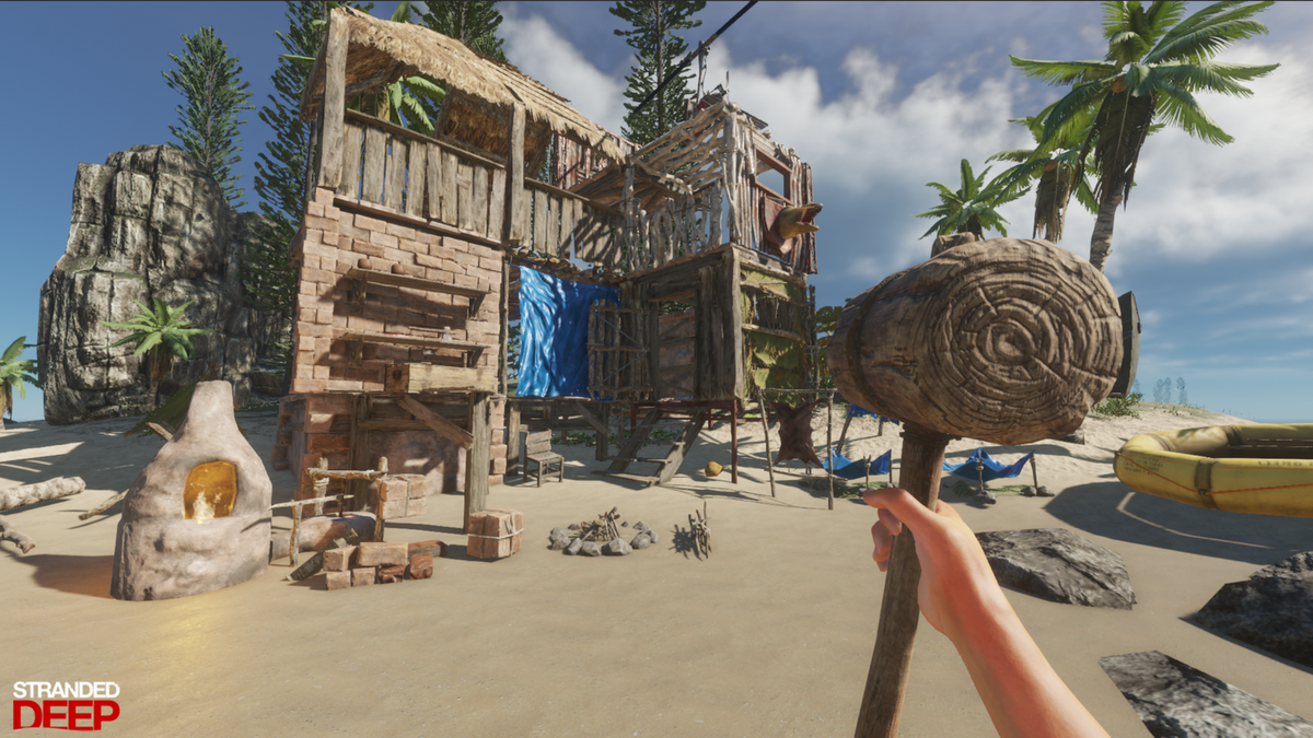 Weekly Official Wiki Roundup Stranded Deep Cartoon