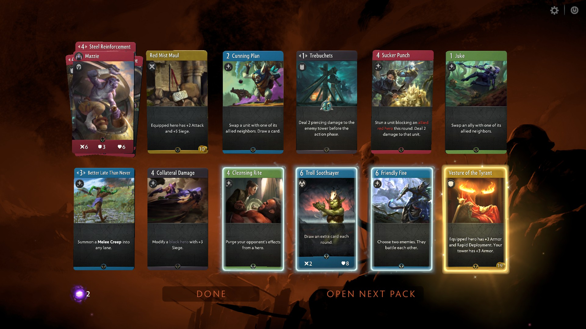 How to Play Artifact, Valve's New Hearthstone Challenger